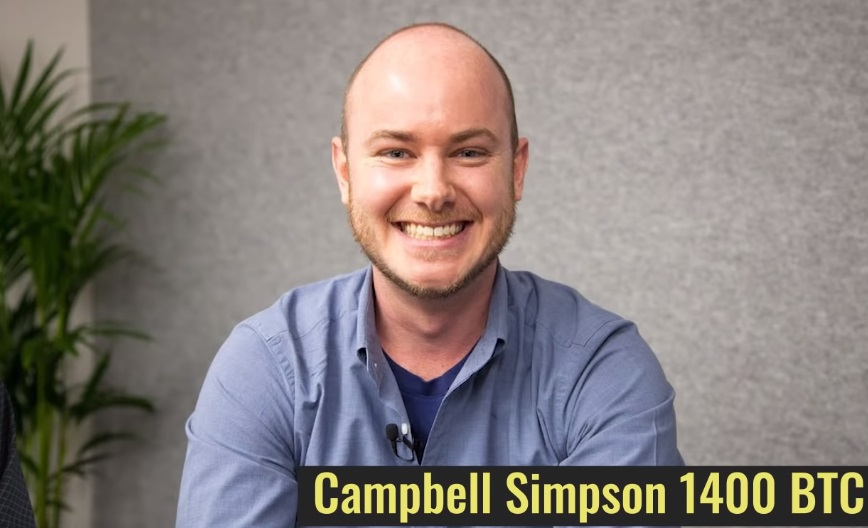 Campbell Simpson lost 1400 BTC