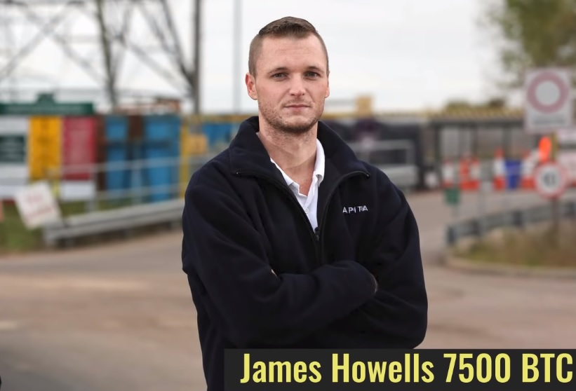 James Howells lost 7500 BTC