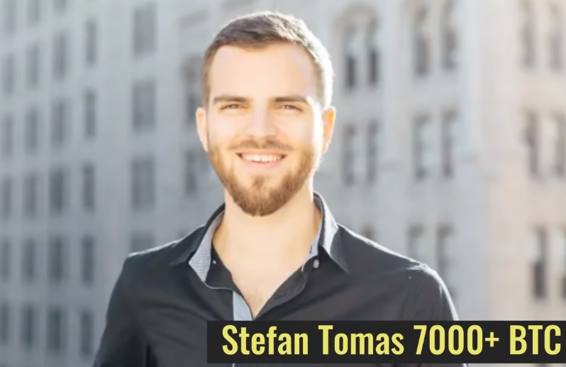 Stefan Tomas 7000 BTC